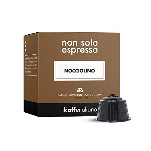 FRHOME - 48 Cápsulas compatibles Nescafé Dolce Gusto - Avellana - Il Caffè italiano