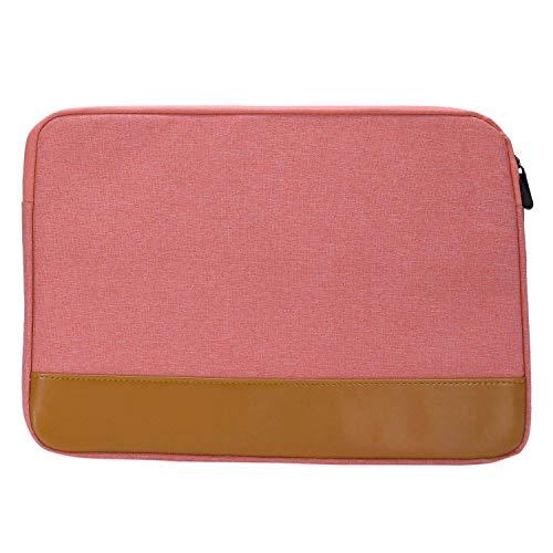 Cikuso 14-15,4 Zoll Hülse Laptop Fall Für Air Pro Ultrabook Notebook Tablet Computer Tragbare Weiche Rei?Verschluss Tasche Für (Rosa)