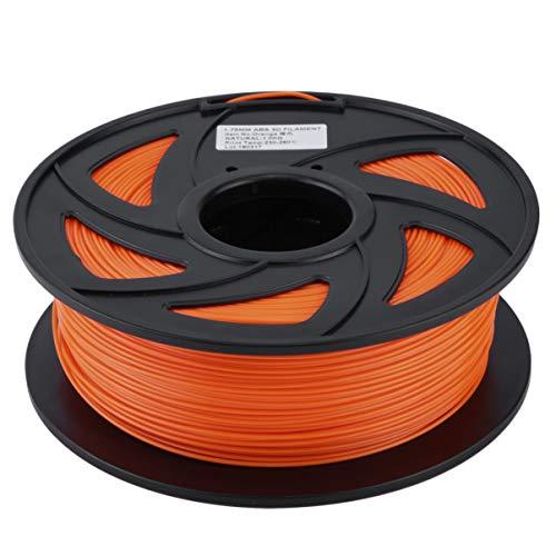 ACEHE Premium ABS 1.75mm Filament 3D Printer Printing Material Supplies Roll 1KG Orange