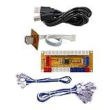 SJ@JX Arcade Game USB Encoder Zero Delay Gamepad Button Joystick Controller for Nintendo Switch PC PS3 Raspberry Pi