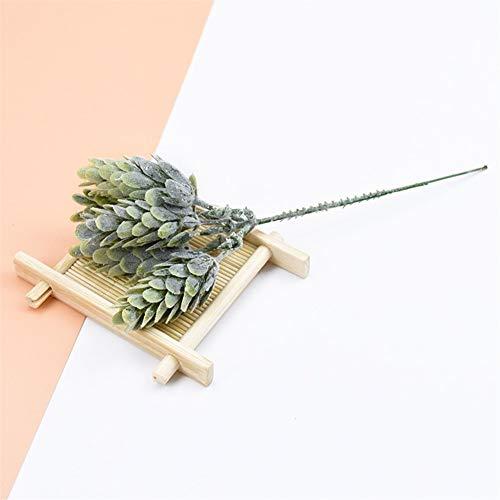 10 stuks / bundel kunstmatige planten vervalste anas voor vazen bruiloft hoofdeindecoratie kerstplakboek DIY geschenk goedkoop zijde plastic bloem