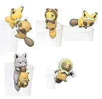 タヌキツ PUTITTO タヌキとキツネ2 トレーディングフィギュア 全5種