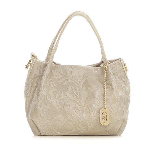 Anna Morellini - Clarissa - WB137241-BEIGE (32) - beige - 239EUR - Handbag - Handcrafted in Italy