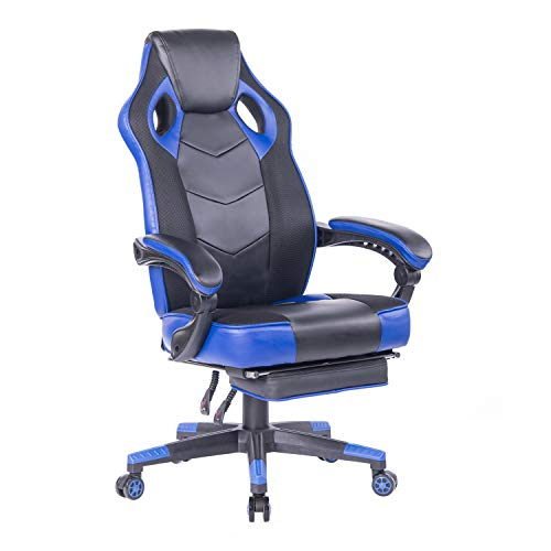 HEALGEN Reclining Gaming Chair with Large Lumbar Support Cushion Racing Style Video...