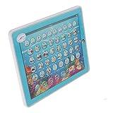 SM SunniMix Baby Lerntablet, Kindertablet, Kinder Pädagogisches Spielzeug - Blau
