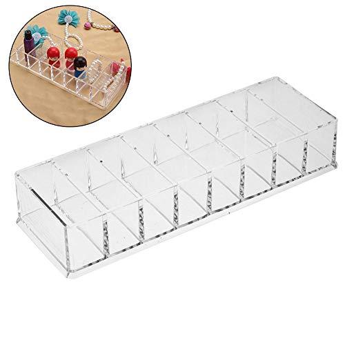 Cosmeticakoffers van acryl, voor het opbergen van sieraden, organizer, voor kasten, uittrekbaar, multifunctioneel, voor badkamer, commode, cosmetica en bar Klein
