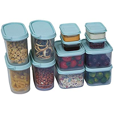 Amazon - Save 40%: Citylife 12 Set Food Storage Containers Plastic Food Containers with Lids…