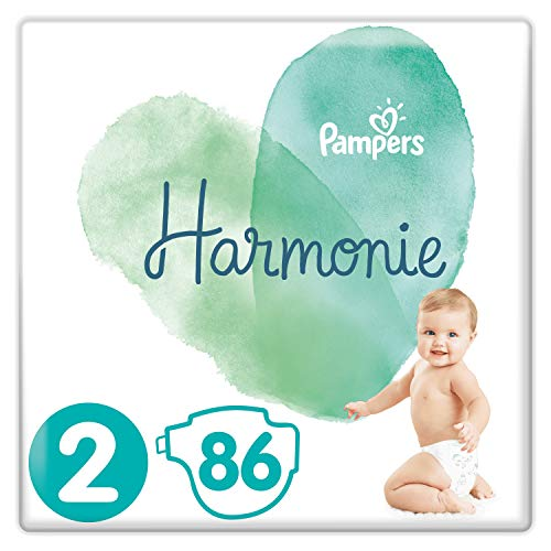 Pampers Harmonie Taille2 86Couches 4-8kg