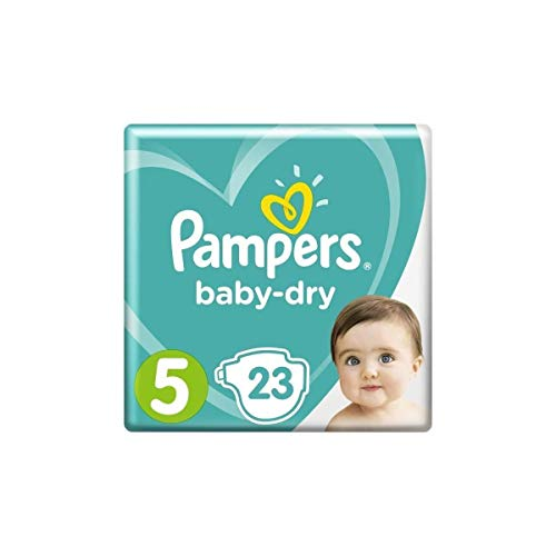 PAMPERS Baby-Dry Taille 5 - 11 a 23kg - 23 couches