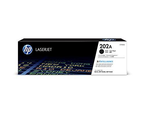 HP 202A | CF500A | Toner Cartridge | Works with HP LaserJet Pro M254, M281cdw, M281dw | Black