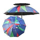 Zixin Jardín con Manivela y la función de la inclinación, Patio/Pesca/Patio Trasero de Playa/Parasol Umbrella - Color (Color: 220cm (7.2ft)) Color : 220cm(7.2ft)