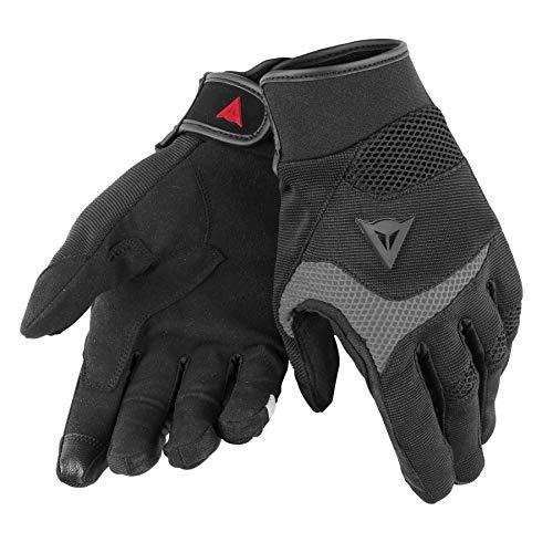 Dainese-DESERT POON D1 UNISEX Handschuhe, Schwarz/Grau, Größe XXXS