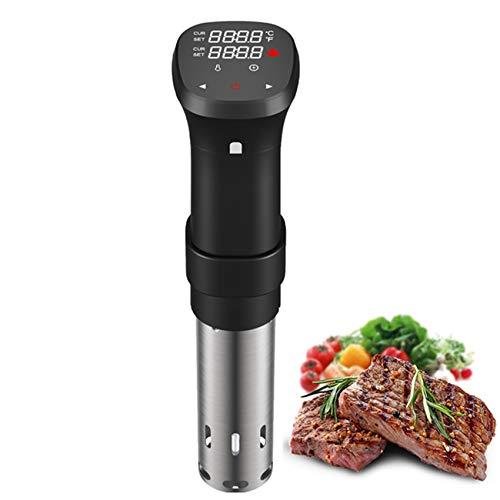 GAYBJ 1800W LCD Vacuum Lebensmittel Sous Vide Kocher Kochmaschine Stabile Einhängethermostaten Digital Timer Slow Cooker