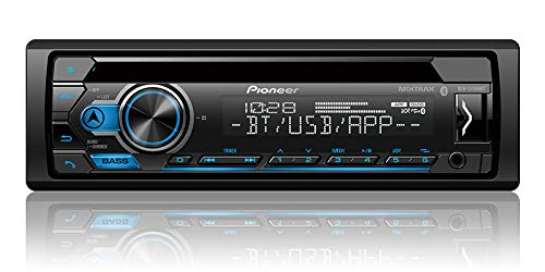 Pioneer DEH-S4100BT CD Receiver with Improved Smart Sync App Compatibility/MIXTRAX/Built-in Bluetooth