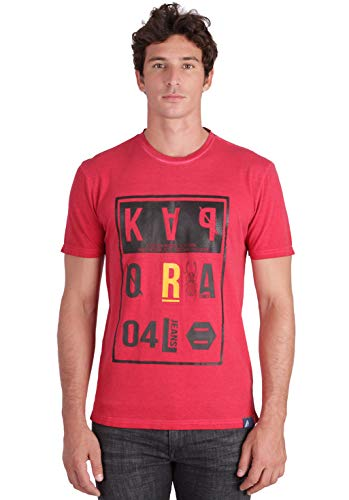 KAPORAL GREZ T-Shirt, Rosso (Red M11), XL Uomo