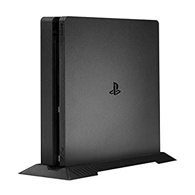Younik PS4 Slim Vertical Stand for Playstation 4 Slim with Built-in Cooling Vents and Non-Slip Feet