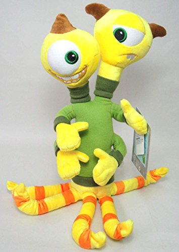 Disney / Pixar MONSTERS UNIVERSITY Exclusive 16 Inch Plush Figure Terri & Terry