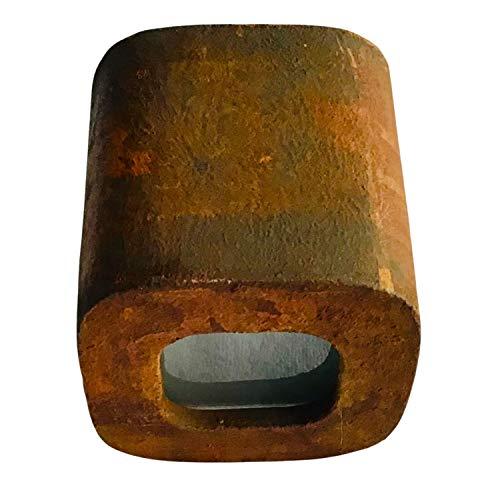 Lámpara de pared con efecto oxidado, lámpara de yeso, lámpara industrial 875
