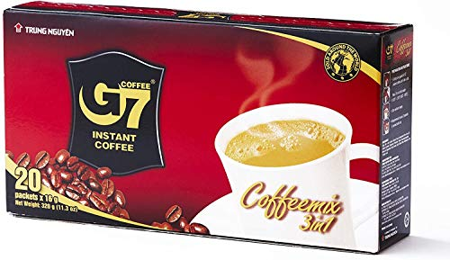TRUNG NGUYEN G7 Instant Coffee (Coffee Mix 3in1) 16g X 21 bags Vietnamese Coffee