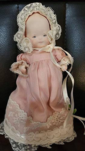 """Kingdom Collectibles Phyllis Perkins Baby Doll 5"""" All Porcelain"""