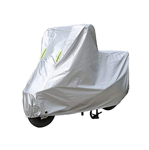 Funda para Moto Compatible con la cubierta de motocicleta POLINI 910 S H2O-6, cubierta de protección para scooter al aire libre para todas las estaciones, materiales compuestos con revestimiento de PE