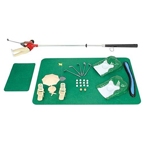 CN Cover Mini Indoor Golf Player Pack, Mini Indoor Golf Minigolf, Golf Pro Set Spielzeug Lernsportspielzeug Übungsspieler Pack Golf Pro Set Spielzeug Eltern-Kinder-Interaktionsspielzeug