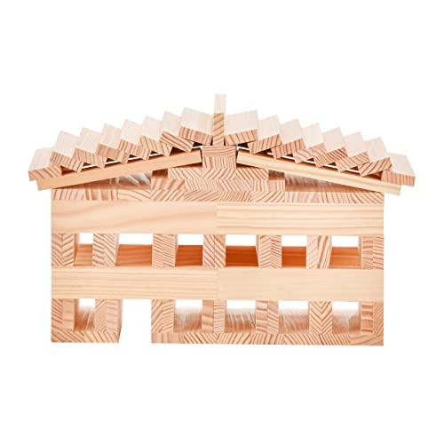 Kapla 100er Box Original Holz Bausteine Plättchen Klötze - 5