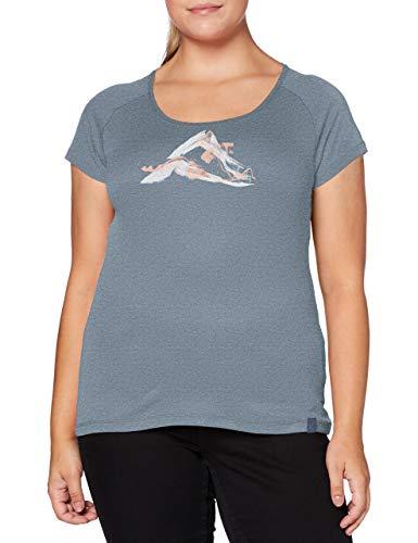 Millet - Tana TS SS W - T-Shirt Sport Femme - Respirant - Randonnée, Approche, Lifestyle - Gris/Rose