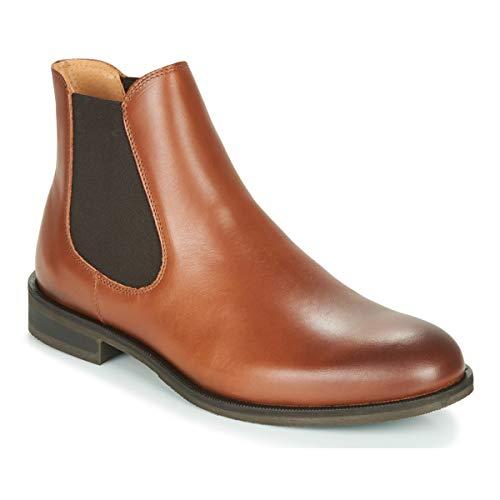 SELECTED LOUIS LEATHER CHELSEA Enkellaarzen/Low boots heren Cognac Laarzen