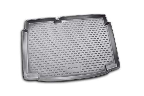 Element EXP.NLC.51.28.BN11 Passgenaue Premium Antirutsch Gummi Laderaumwanne Kofferraumwanne für VW Polo V 5 Typ 6R/6C/61, Schrägheck - Jahr: 09-20, Schwarz, Passform