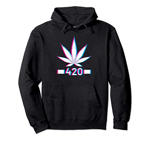 Stay THC Bong Kiffen Hanf High Haze Ganja Cannabis Joint Pullover Hoodie