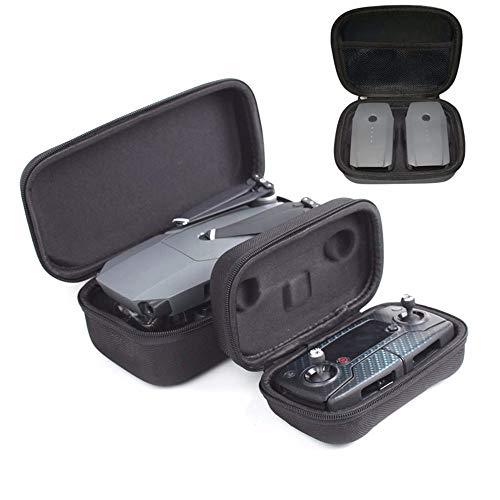 XUSUYUNCHUANG Drone Body Remote Controller Storage Box draagtas Batterij Kluis for DJI Mavic Pro Drone Travel Protector zak Spare Parts drone Bags (Color : Drone RC case)