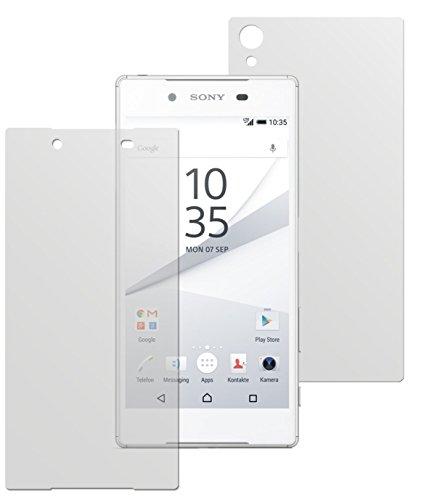 dipos I 6X Schutzfolie matt kompatibel mit Sony Xperia Z5 Folie Displayschutzfolie (3X Vorder- & 3X Rückseite)