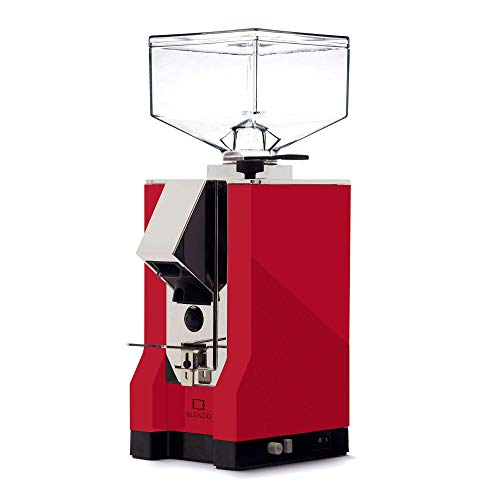 Eureka Mignon Silenzio|Grind-on-Demand Kaffeemühle in rot
