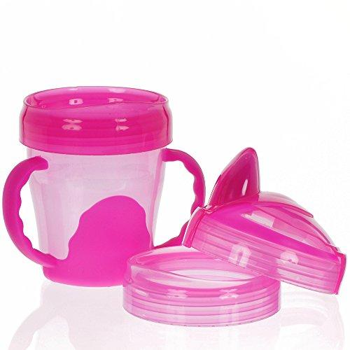 Vital Baby Mein erster 3-Stufen Trinklernbecher - 200ml pink