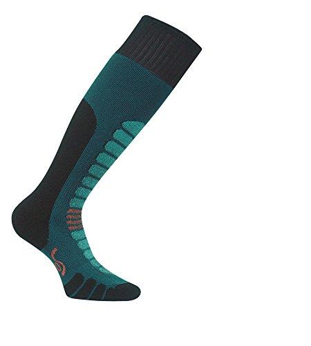Eurosock s Board Supreme Snowboard Socken - Gepolsterter Schienbeinschutz - Ultra Smooth No Bunching - Warm - 0912