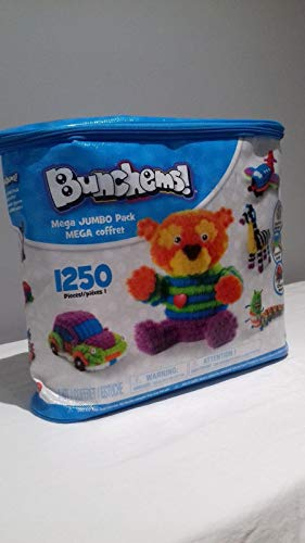 Bunchems Mega Jumbo Pack 1200 pcs + 50 Accessory - Pack