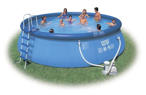INTEX Pool-Set 457x122 cm komplett mit Leiter etc.