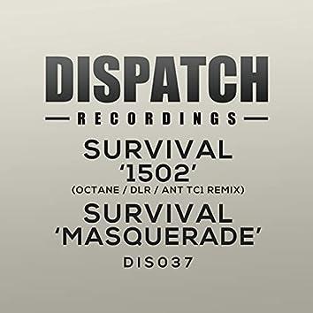1502 (Octane, DLR, Ant TC1 Remix)  / Masquerade