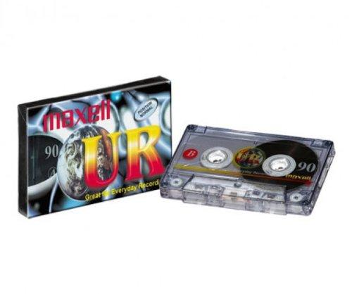 5 Maxell Audio Kassetten UR90 Cassette Audiokassetten 90min