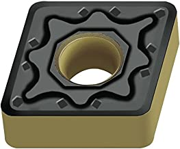 Walter Tools CNMG120404-NM4 WSM10 Carbide Tiger-Tec Negative Indexable Turning Insert, 1/64