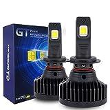 KOOMTOOM H7 LED bombilla del faro para faro lenticular Cree XHP70 Chip Serie GT Bombilla Canbus Libre de errores Alta potencia Salida 90W 18,000LM / juego Halógeno de reemplazo HID