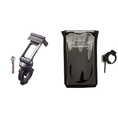 TOPEAK Halterung RideCase Mount Black, One Size & Topeak, Smartphone DryBag 6, Black, TT9840B
