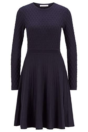 BOSS Damen C_Fedressy Lässiges Kleid, Open Blue466, M