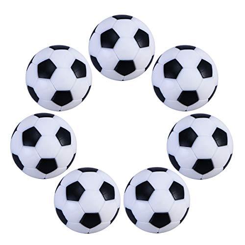 UEETEK 6pcs 32mm mesa Mini pelotas fútbol actividades