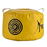 Huntvp Golf Impact Power Smash Bag Hitting Bag Swing Training (Yellow)