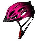 ROUNYY Fahrradhelm Allround-Helme Jugendhelme Rennrad Mountainbike Sport Schutzhelm (Pink)