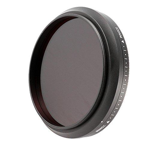 Ruili Einstellbar Infrarot Pass Linse Filter 55mm, 530nm to 750nm,650nm,680nm,720nm,55mm, Kamera Filter