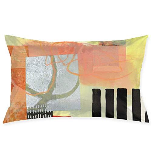 lymknumb Cremallera Oculta, Funda de Almohada Colorida, Simple y Elegante, Adecuada para Almohadas de sofá, Cojines de Coche Desert-Dream-4