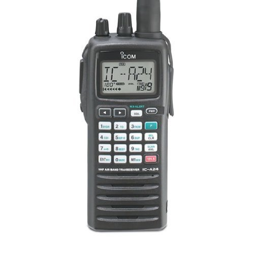 5796a213753 Amazon.com  Icom IC-A24 Handheld Nav Comm  Cell Phones   Accessories